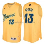 Magliette Basket Indiana Pacers 2016 Paul George 13# NBA Natale Swingman..